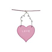 BL1 - Love Heart Pink
